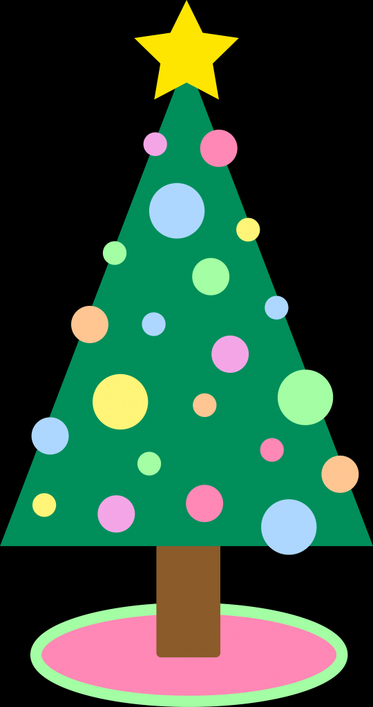 540x1024 Simple Christmas Tree Drawing Cute Simple Pastel Colored Christmas