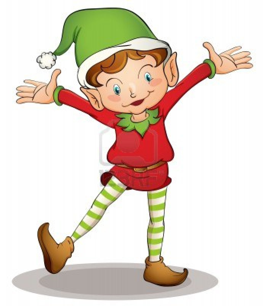 1035x1200 Christmas Elf Pictures Template Collection Clip Art Image