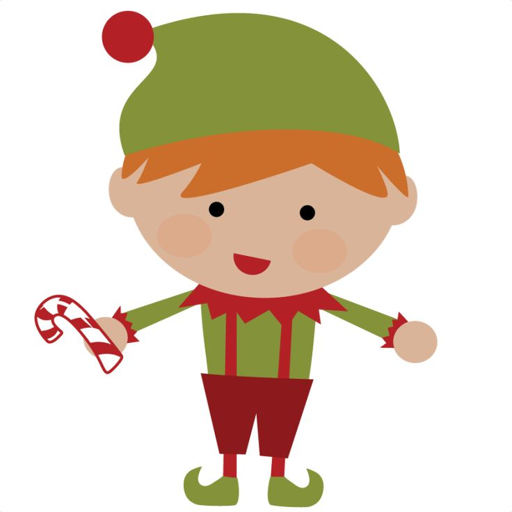 736x736 Cute Elf Clip Art Merry Christmas Amp Happy New Year Arts