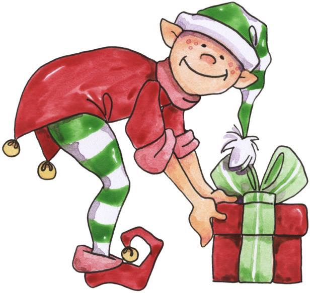 616x583 Elf And Present Christmas Elves, Clip Art And Rock