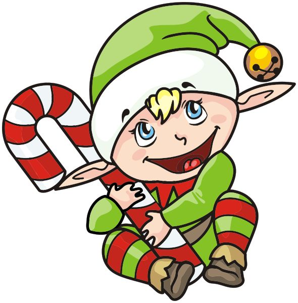 Christmas Clipart Elf On The Shelf