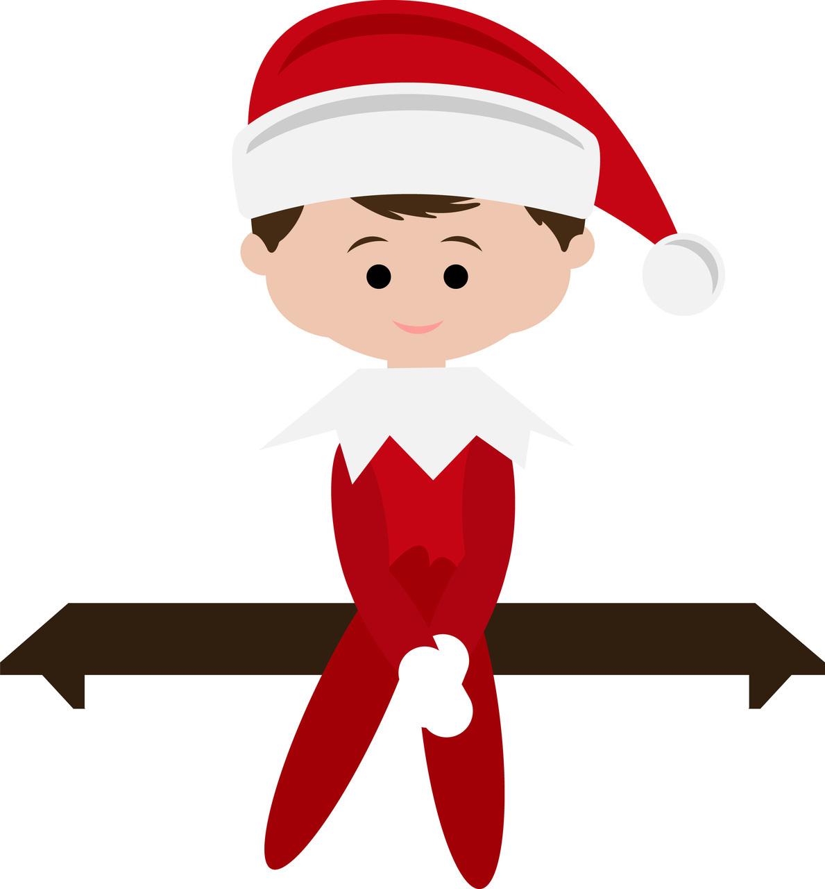 1189x1280 Elf On The Shelf Clipart