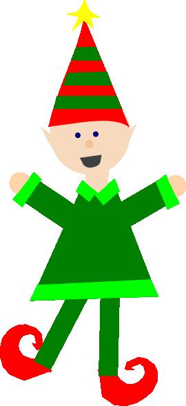 270x589 Elf Clipart Free