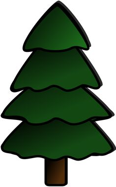 236x382 Christmas Green Present With Red Bow, Clip Art Christmas Digis