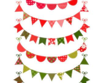 340x270 Flag Clipart Christmas