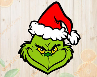 340x270 Grinch Clipart Etsy