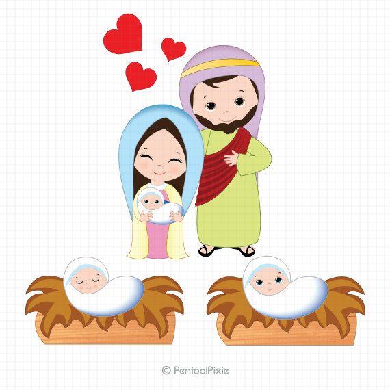 570x570 Nativity Clipart, Nativity Clip Art, Christmas Clipart, Jesus