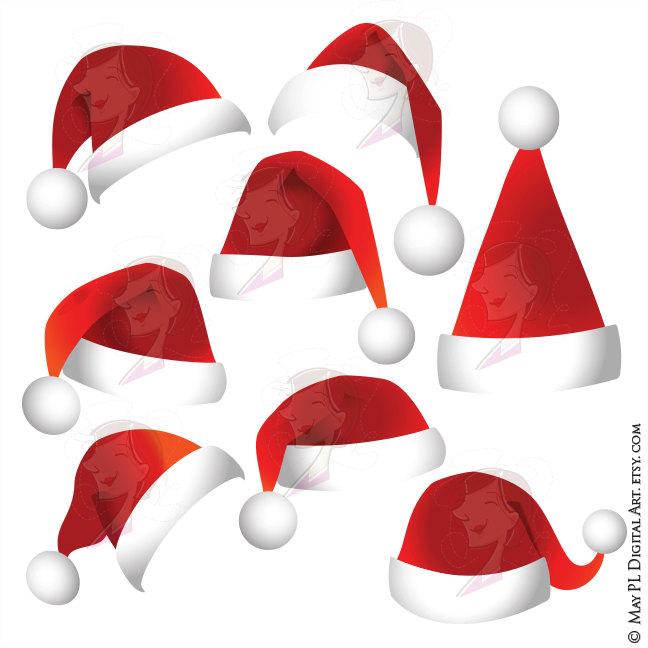 648x648 Santa Claus Hat Svg Clip Art Christmas Santa Hat So Easy