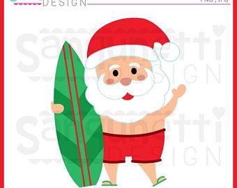 340x270 Santa Clip Art Etsy