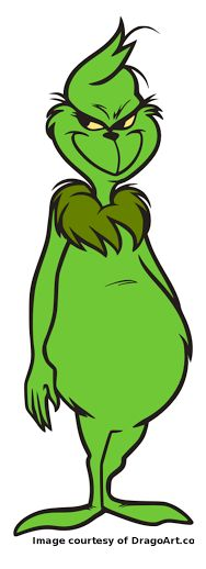 188x518 Smile Clipart Grinch