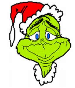 256x300 The Grinch Clip Art