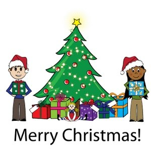 300x300 Christmas Clipart For Kids Merry Christmas And Happy New Year 2018