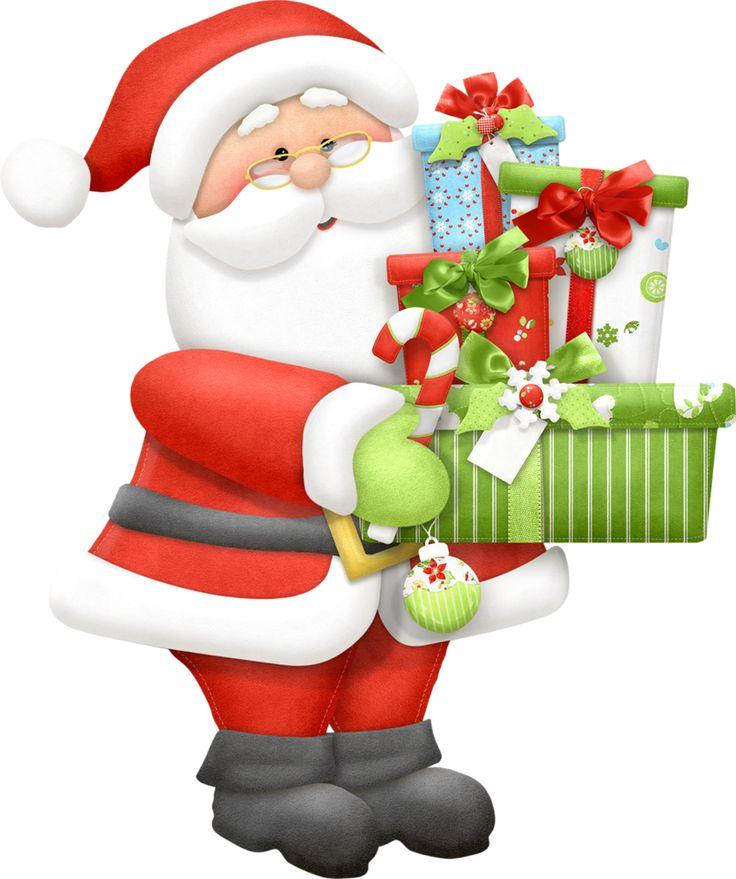 736x879 Meeting Santa Santa Claus Clip Art Merry Christmas Amp Happy New