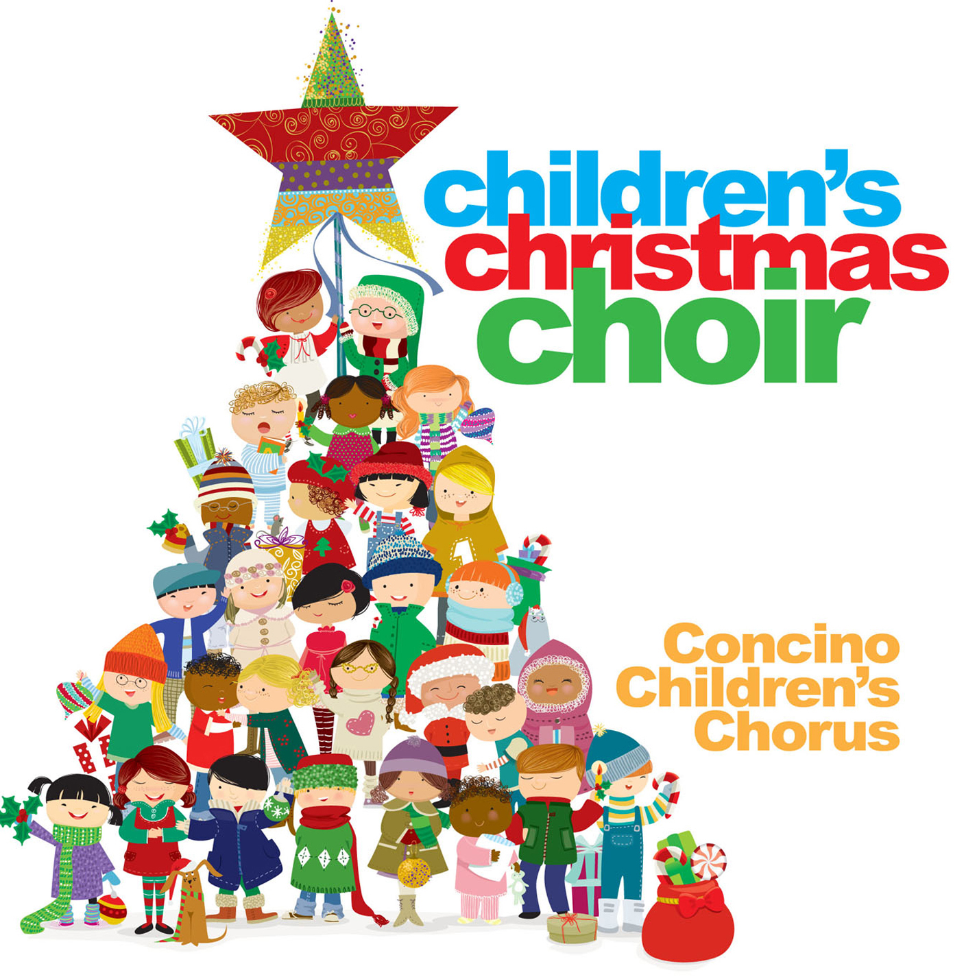 1425x1425 Christmas Choir Clipart
