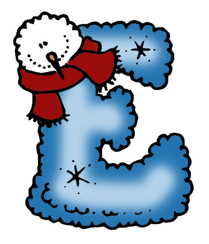 Christmas Clipart Letters