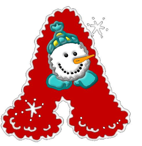 Christmas Clipart Letters   Free download on ClipArtMag