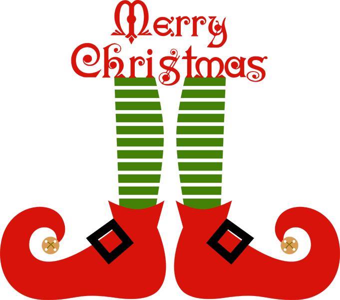 681x600 Art Christmas Elf Shoe Cliparts