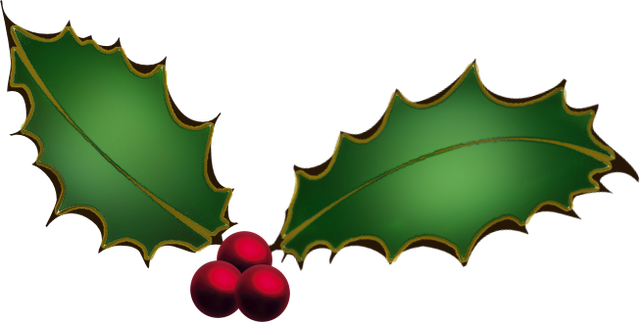 640x322 Christmas Clipart Transparent Background