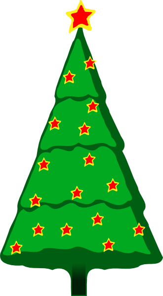 330x596 Background Clipart Christmas Tree