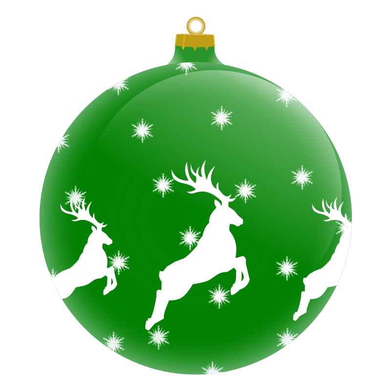 800x800 Christmas Ornaments clipart transparent