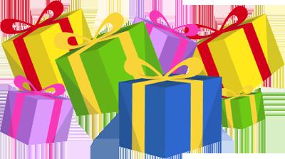 400x224 Christmas Present Clip Art, Free Christmas Present Clip Art