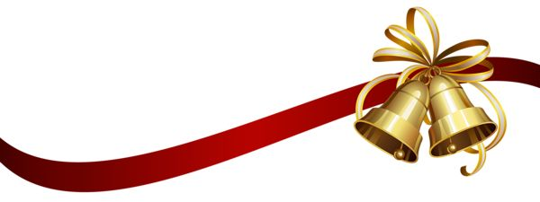 600x225 Christmas Bell Png Transparent Christmas Bell.png Images. Pluspng