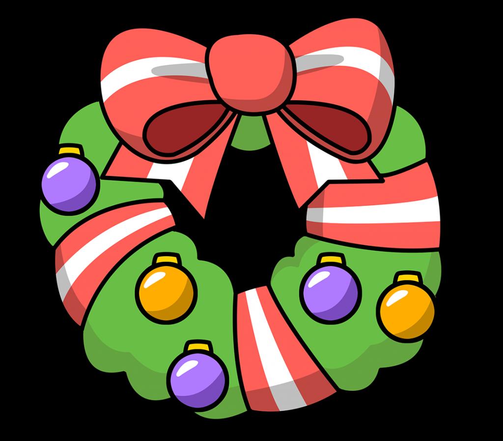 1024x897 Christmas ~ Free Christmas Lights Clip Art Images Black Clipart