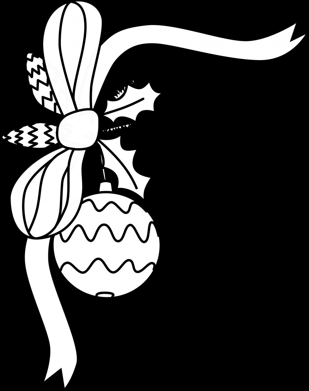 1024x1296 Christmas ~ Christmas Border Clipart Black And White Whit