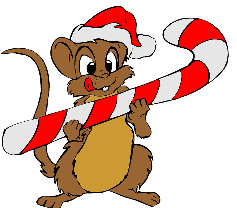 821x720 Free Photo Santa Christmas Hat Mouse Red Clip Art Holiday