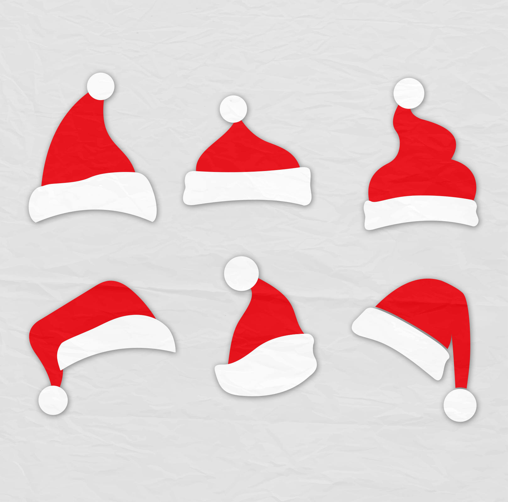 1618x1600 Santa Hat Svg Clipart Christmas Santa Claus Hat Clip Art Svg