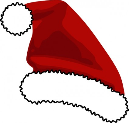 425x407 Santa Hat Clip Art Free Vector In Open Office Drawing Svg Svg 2