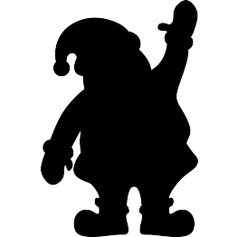 263x262 Free Silhouette Clip Art