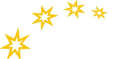 455x239 Christmas Stars Clipart