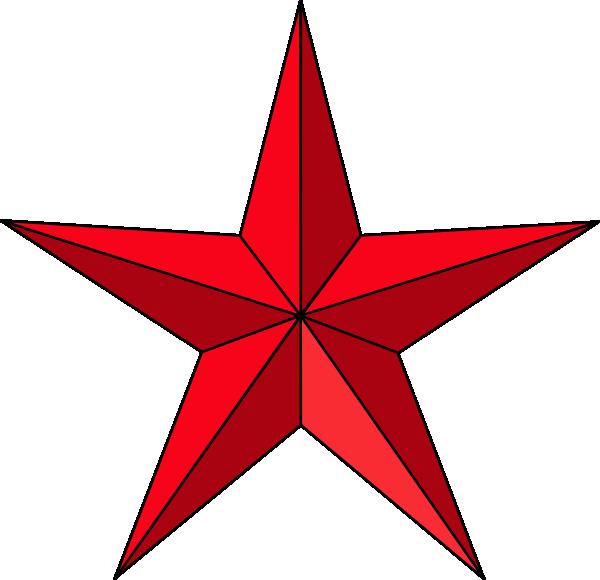 600x580 Texas Star Clip Art