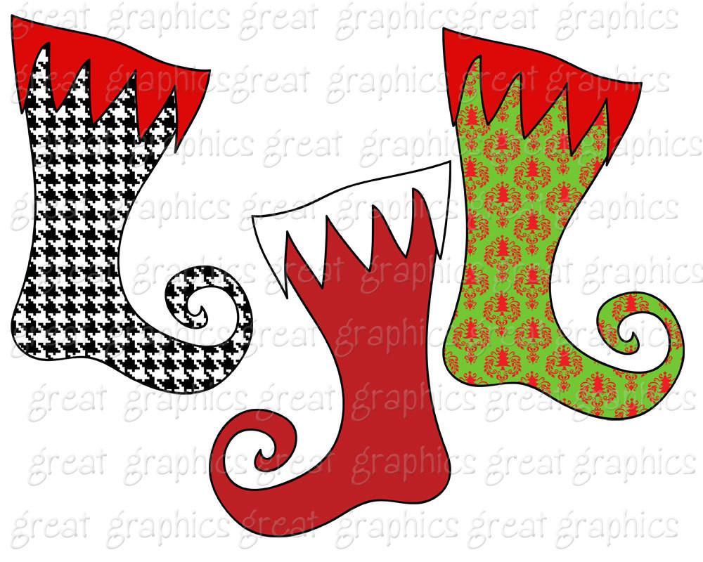 1000x800 Christmas Clipart Christmas Stocking Clip Art Digital Christmas