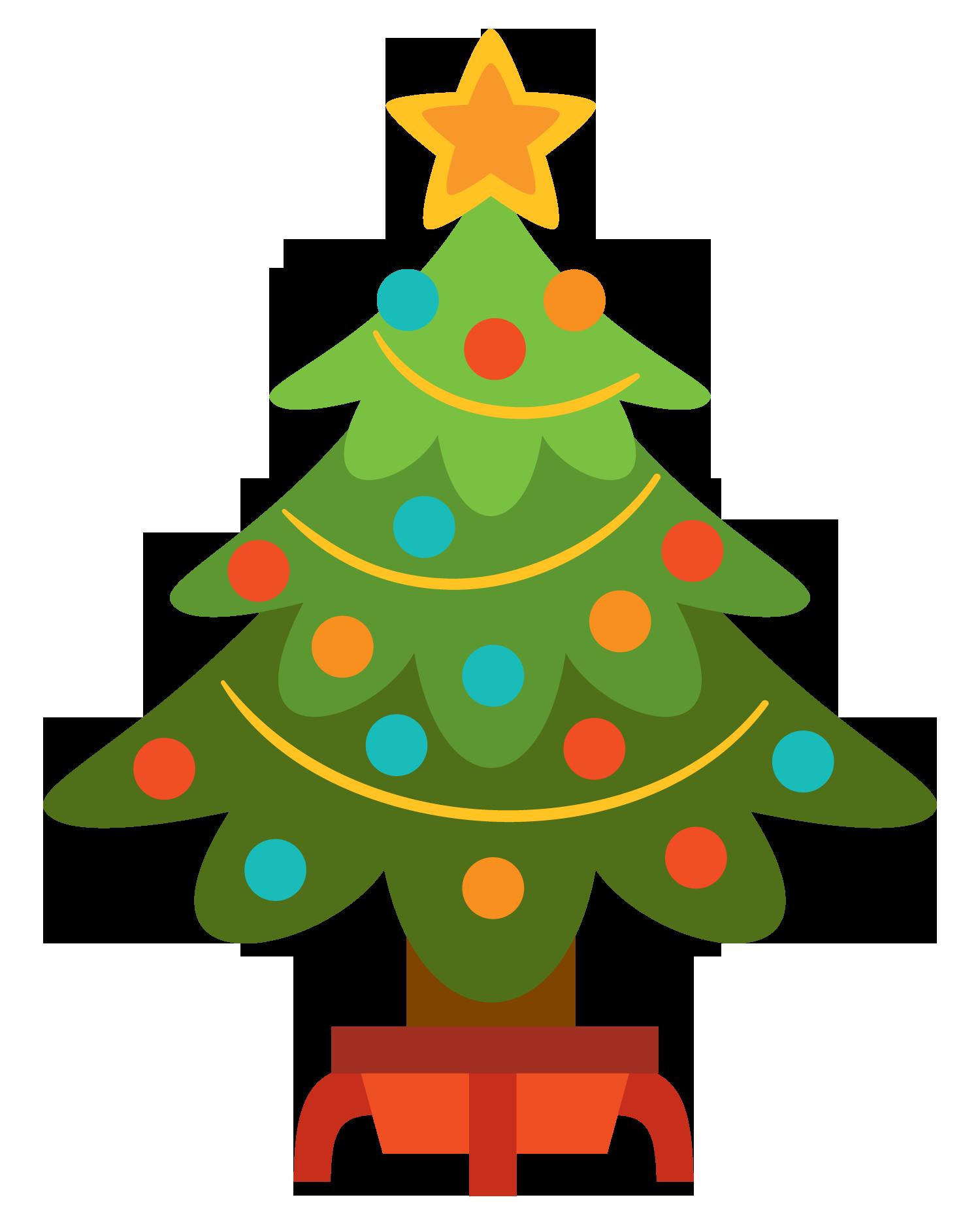 1500x1875 Bright Clipart Christmas Tree