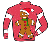 200x172 Free Christmas Sweater Clip Art Fun For Christmas