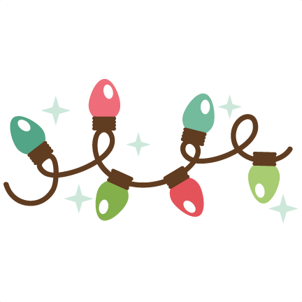 432x432 Christmas Lights Clipart Transparent Background