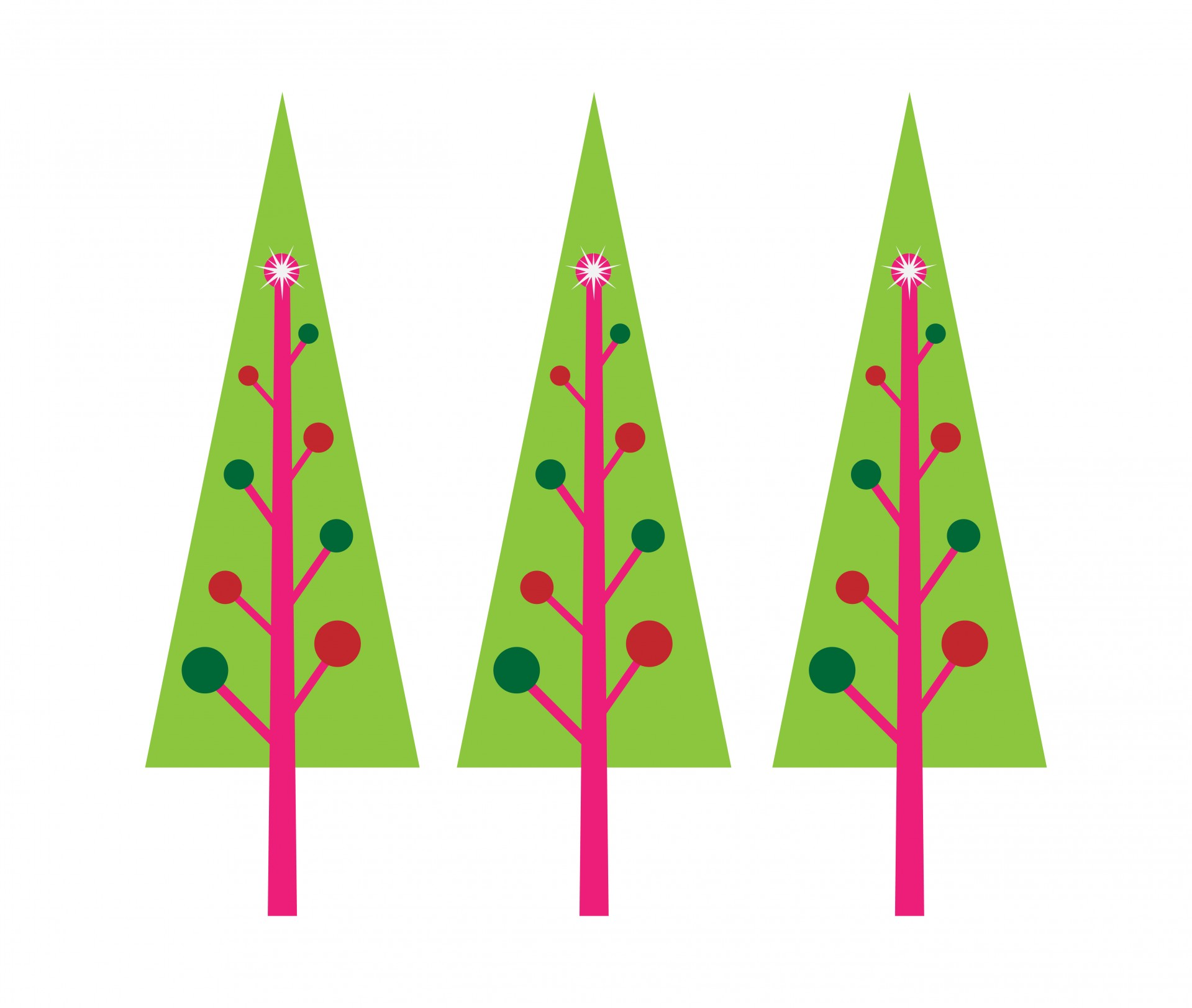 1919x1624 Christmas Tree Clipart Simple Green