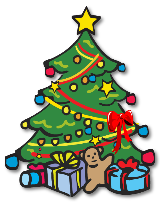 541x684 Clip Art Christmas Tree
