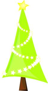 161x300 Clip Art Tree Modern Christmas Clipart