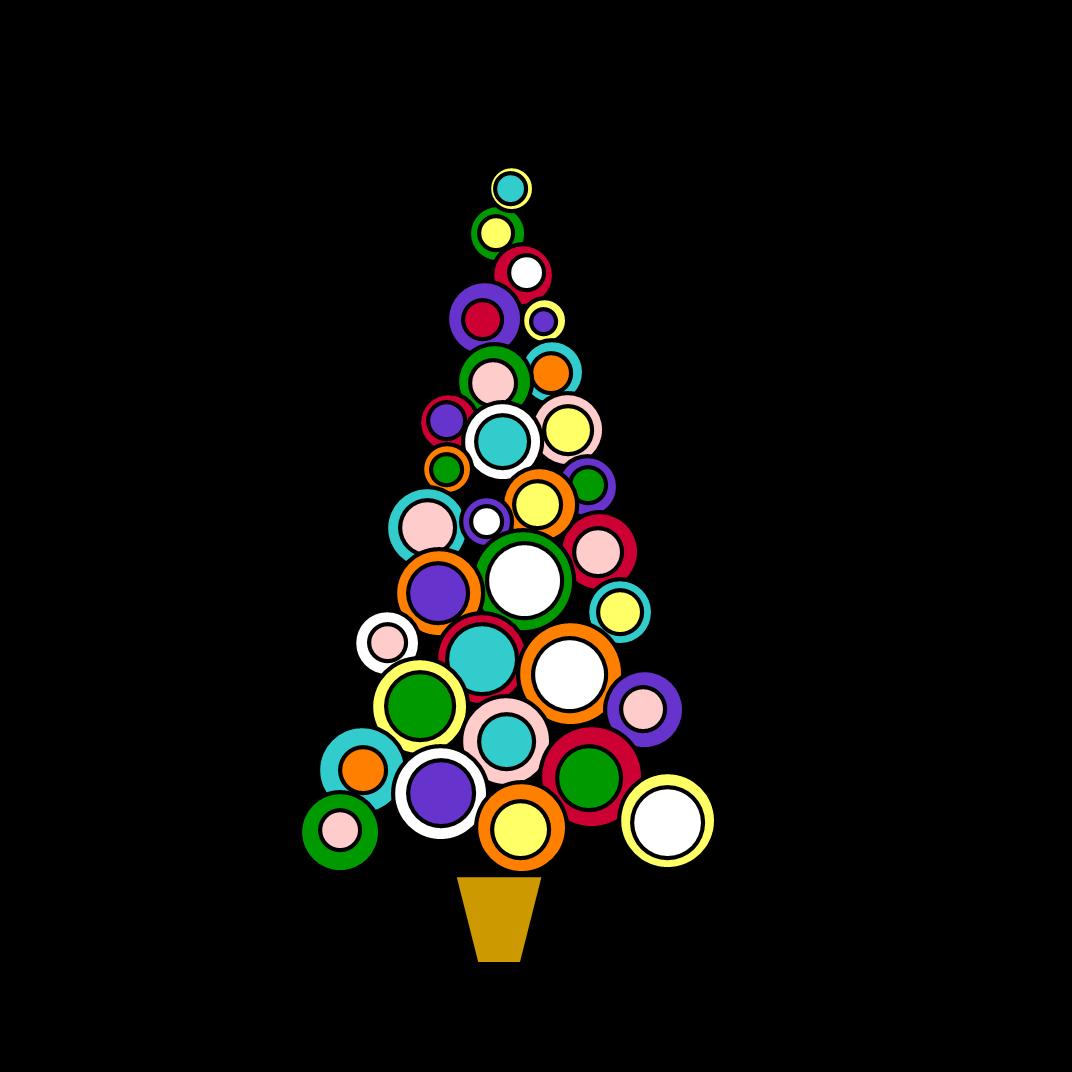 1072x1072 Triangle Clipart Christmas Tree