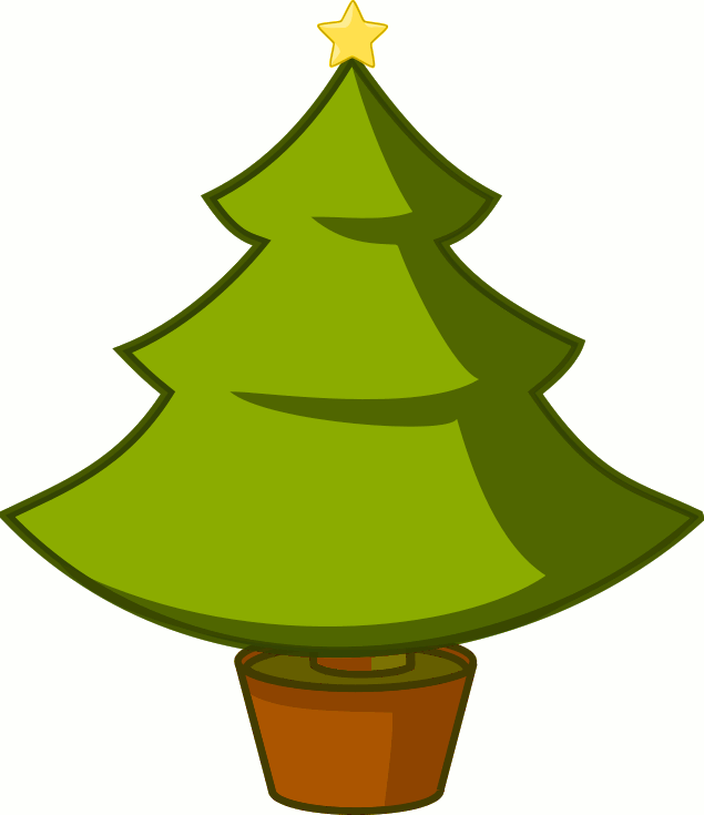 635x735 Christmas Tree Clip Art Borders Library Vector Clipart Photo