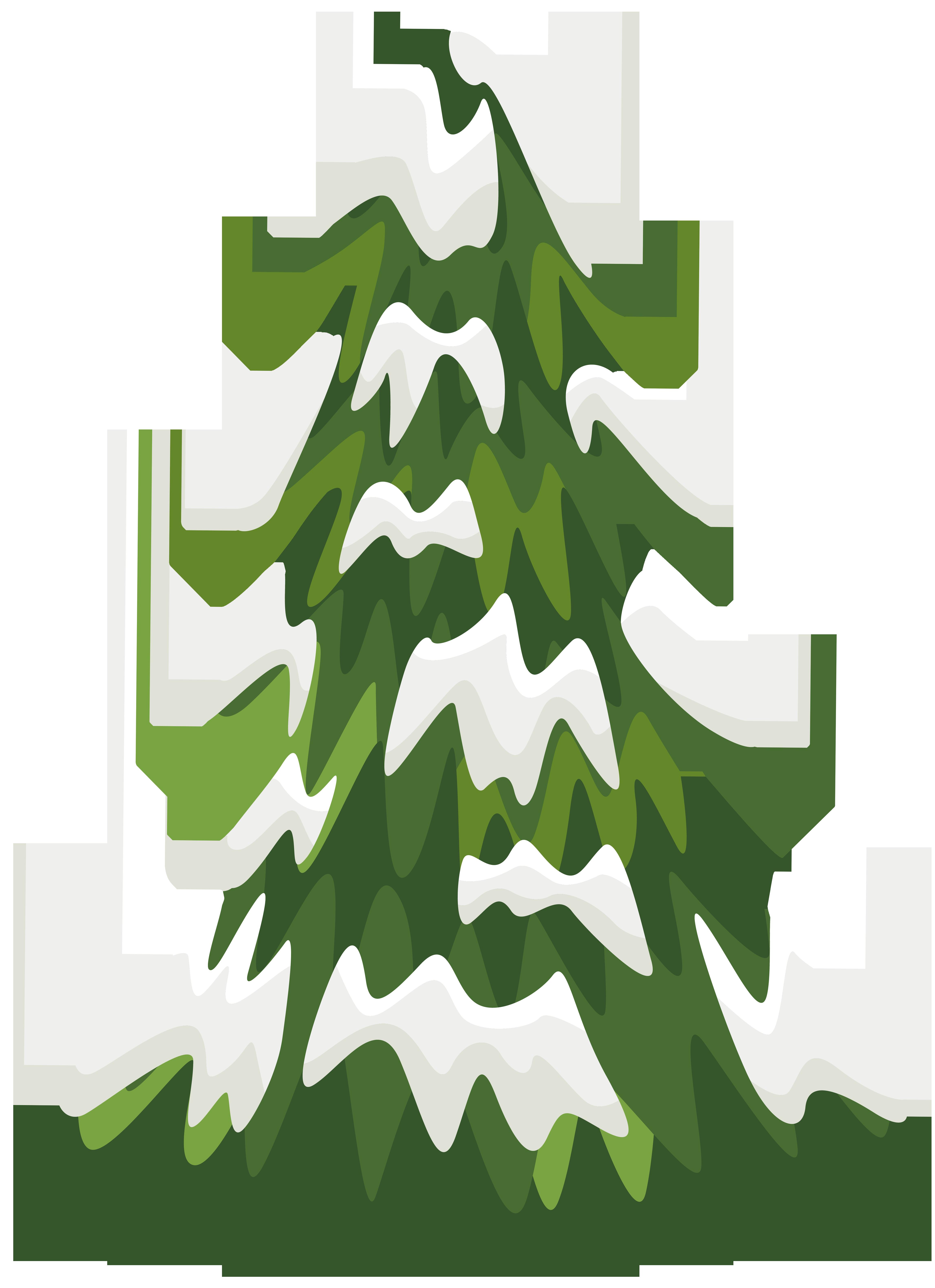 4587x6313 Pine Tree Clip Art For Christmas Fun