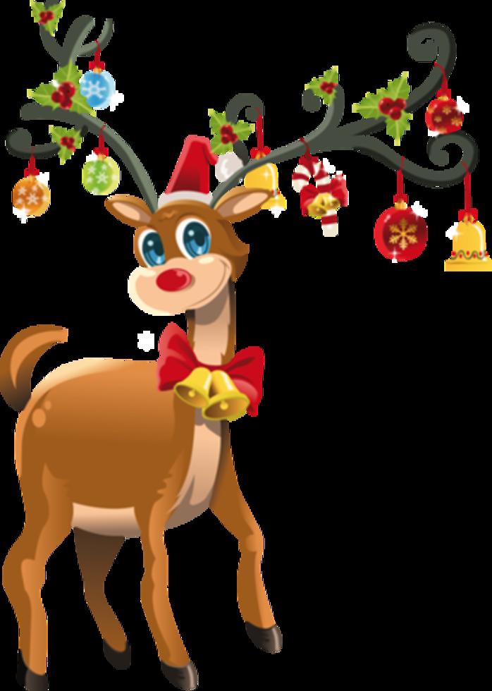 698x980 A Christmas Reindeer Clip Art, Merry And Holidays