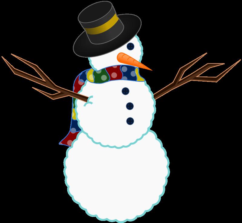 800x738 Snowman Clipart Transparent Background