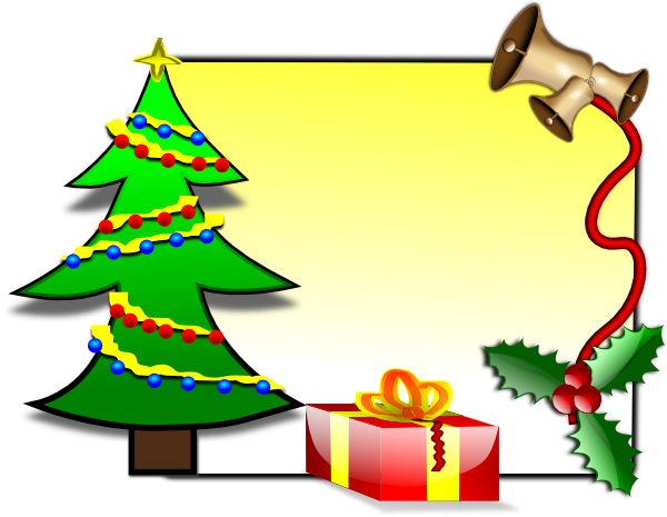 600x465 Christmas Card Clipart Png