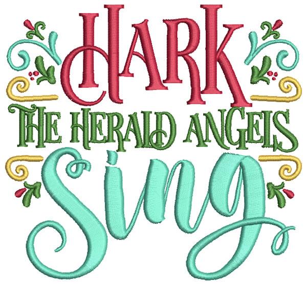 600x556 Christmas Carols Word Art 2