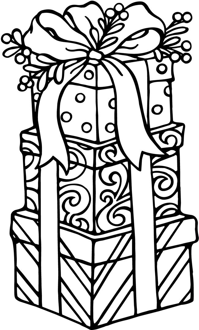 Christmas Coloring Pages | Free download on ClipArtMag
