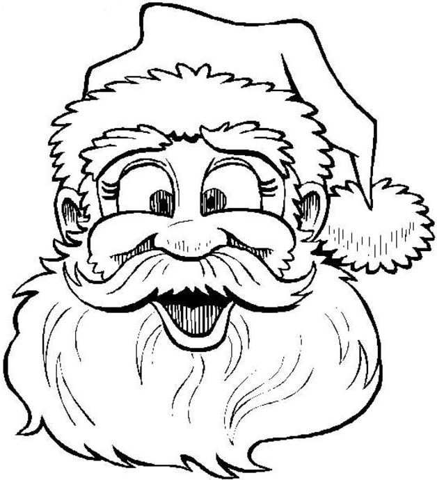 628x690 christmas coloring pages online wallpapers9